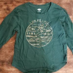 Old Navy Long Sleeve Kids Shirt